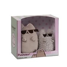 Pusheen The Cat - Plush Cool Pusheen and Stormy in Sunglasses Collectible Set