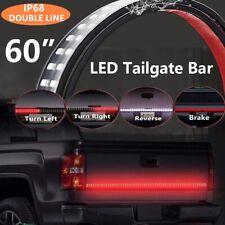 """60"""" DOUBLE ROW Truck Tailgate LED Light Strip Bar for GMC Sierra 1500 2500 3500"""