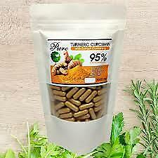 Turmeric tablets 100 capsules Thai herbs