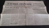 Journal Nationalist L Action Figure French 28 Mars 1934 N° 87 ABE