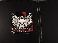 """Nos La Hitmen """"Flying Skull� Square Paintball Sticker"""