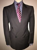 JAEGER LUXURY DESIGNER SUIT DB TRADITIONAL HAND FINISHED STYLE 40sx34x29