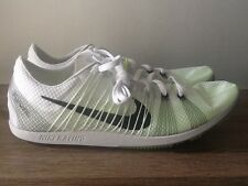 Nike Zoom Matumbo 2 Racing Track Shoes w/Spikes White/Blk/Volt 526625-107 Sz 11
