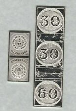 TWO SOUTH AMERICA POSTAL SILVER STAMP INGOTS IN NEAR MINT CONDITION