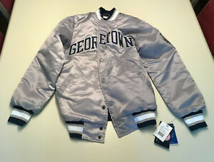 Georgetown College Villa Starter Jacket USED - READ DESCRIPTION SIZE SMALL