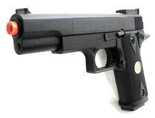 Airsoft Pistol Handgun P169 .45 High Powered Spring Action Pistol 200 FPS AIR BB