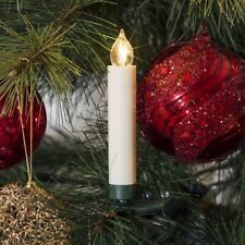 Konstsmide LED Baumbeleuchtung Fernbedienung 10 Kerzen Weihnachtsdeko