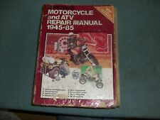 1945-1985 Chilton's Motorcycle & Atv Repair Service Shop Manual
