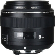 Yongnuo YN 85mm f/1.8 Lens (Canon & Nikon Mounts are available)