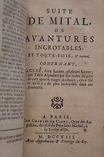 1708 Bordelon Mital Aventures Incroyables Prodiges Merveilles Folie EO complète