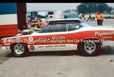 Ronnie Sox Martin Plymouth Duster 8x12 NHRA Pro Stock
