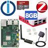 Smarthome Server Raspberry Pi 4 Modell B 8GB mit ioBroker + ZigBee mit Antenne