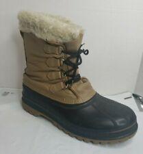 Sorel Polar Mens Sz 11 Winter Snow Boots Wool Liner Outdoors Snowmobiling Guc