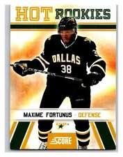 (HCW) 2010-11 Score Glossy #548 Maxime Fortunus Stars Mint