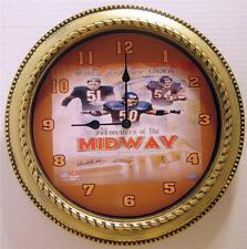 """NFL CHICAGO BEARS """"MONSTERS OF THE MIDWAY"""" 12"""" WALL CLOCK - LINEBACKER LEGACY"""