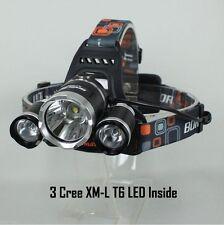 CREE 3 XM-L T6 5000LM LED Headlamp Head light Torch Head Lamp Flashlight