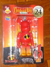 100% Medicom 2013 Disney Christmas Party Pixar Bearbrick - No.24 The Incredibles