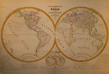 HYDROGRAPHICAL OF THE WORLD 1855.
