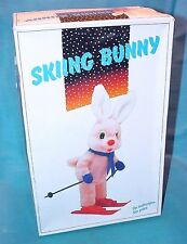 "Janina Duracell 12"" Tall SKIING BUNNY TV Figure Battery Operated MIB`85 RARE!"