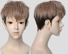 Attack on Titan Jean Kirstein Shingeki no Kyojin Cosplay Wig Brown Ombre Short