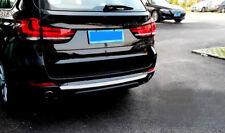 For BMW X5 F15 2014-2017 Car Steel Rear Bumper Skid Protector Guard Trim