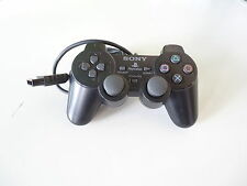 PlayStation 2-original Sony Controller Dual Shock 2 negro ps2
