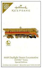 2012 Hallmark Lionel Trains 4449 Daylight Steam Locomotive Limited Edition!
