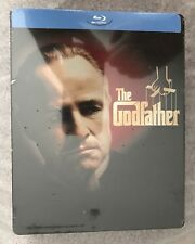The Godfather (New Blu-ray) Best Buy Exclusive Steelbook, Brando, OOP/HTF