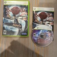 Bayonetta Microsoft Xbox 360 SEGA Video Game Complete FREE SHIP CIB 2010