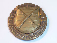 vintage Insigne MEDAILLE NRA BADGE US usa HUNTING SIGN two guns DEUX FUSILS