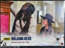 Walking Dead Season 4 Silver Numbered Parallel Base Trading Card #50 15/99