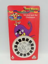 Vintage TYCO View Master Disney Mickey And The Dinosaurs 3 Reels Pack Sealed