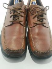 Rockport Kinetic Air Circulator Shoes Men's Lace Up With Brown Size 11.5 M