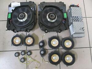 BMW F06 BANG&OLUFSEN SET AMPLIFIER VERSTARKER 9270465 SUBWOOFER SPEAKERS