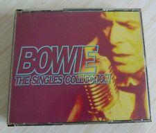 BOX 2 CD ALBUM BOWIE THE SINGLES COLLECTION DAVID BOWIE 37 TITRES 1993