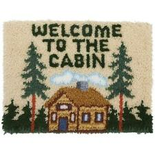 "Sundanceâ""¢ Welcome to the Cabin Latch Hook Kit"