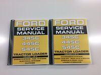Ford 345C Tractor Loader Service Manual Technical Manual Repair Manual