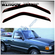 2pc Sun Rain Guard Vent Shade Window Visor Fit Ranger B-Series Regular 1d95bb4e7f3