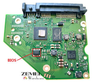 "Seagate 3.5"" SATA Hard Drive HDD PCB Board Circuit Logic Board 100797092 Rev-A"