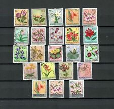 Ruanda Urundi Congo Belgium Colonies Mh & Used Flowers Stamp Lot (Afr 16 )