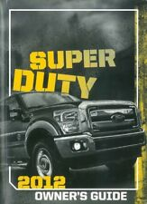 Repair manuals literature for ford f super duty ebay 2012 ford f super duty truck owners manual user guide reference operator book freerunsca Images