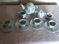 14 piece tea set for American Girl dolls or similar or for children to play with