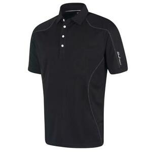 Island Green Golf Mens Top Stitch Quick Dry CoolPass Breathable Polo Shirt Top