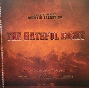 Hateful Eight Movie Program - Kurt Russell