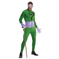 The Riddler Supreme Edition  Adult Deluxe Complete Official Halloween Costume