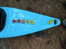 kayak Tempo 9.0 with cockpit cover and paddle