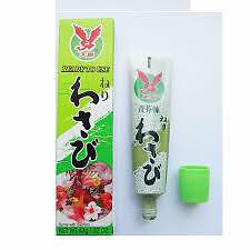 2 unidades x Wasabi en pasta (paste) neri  43gr. (rábano picante pasta wasabi)