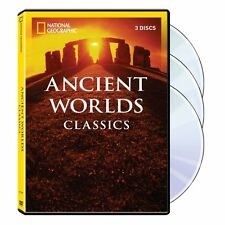 Ancient World Classics Coll DVD 3 Discs NEW National Geographic NO ART NO CASE