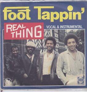 Real Thing-Foot Tappin vinyl single