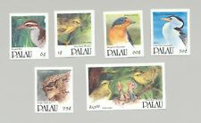 Palau #266, 268, 270, 277-78, 283 Birds 6v Imperf Proofs from set